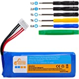 Flip 4 Battery, 3200mAh Battery with Tool Set Replacement for JBL Speaker Battery, Compatible with JBL Flip 4 and Flip 4…