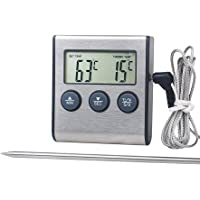HAODEE Vlees Thermometer Kachel Thermometer Melk Thermometer Nauwkeurige Koken Thermometers Digitale Koken Thermometer…