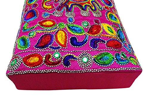 Borse Rosa Indiani Suzani Tote Peegli Tradizionali Donne Ricamate HRfxd0