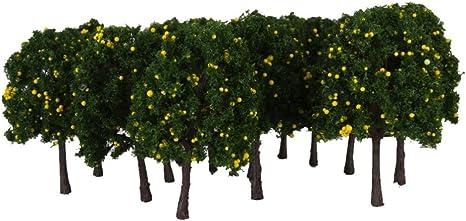 43 Arbre Plante décor Maquette Trains électriques Modèles Mixtes Vert
