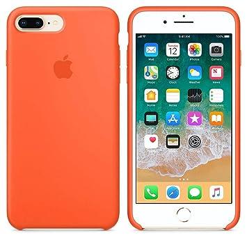 Desconocido Funda para iPhone 6 / 6s, Silicona Naranja Butano Logo Apple Carcasa iPhone (iPhone 6 / 6s)