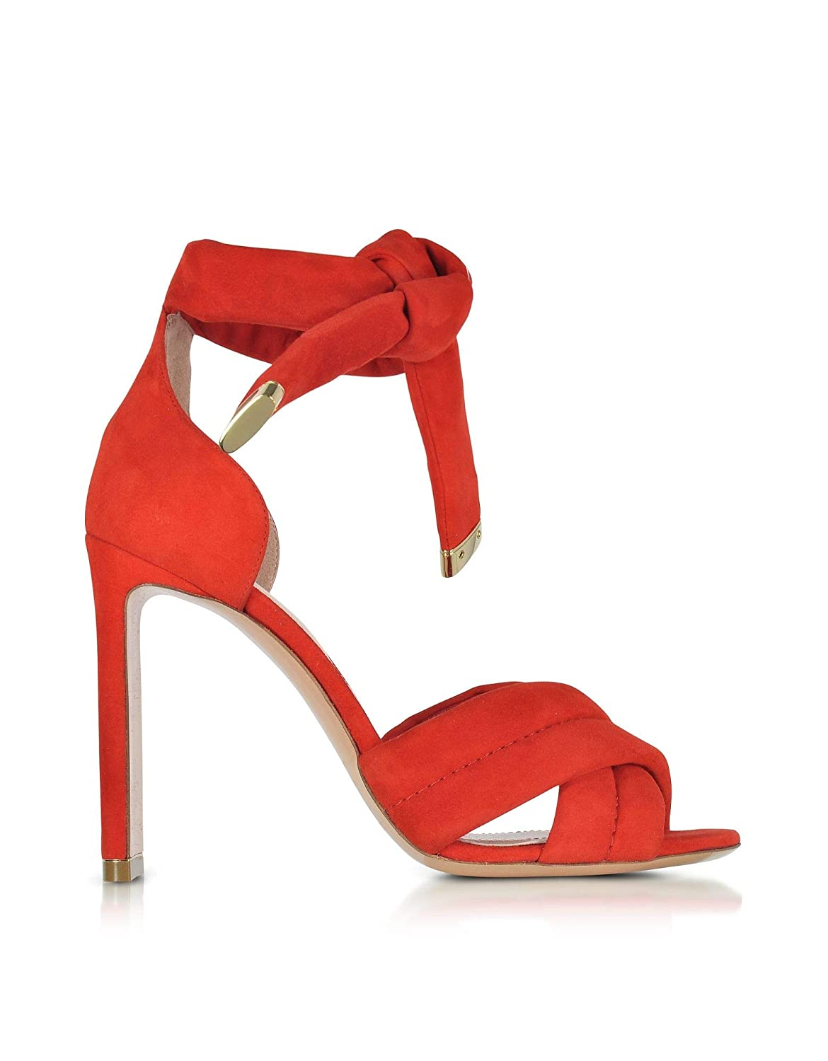 - NICHOLAS KIRKWOOD Women's 910A80R04 Red Suede Sandals
