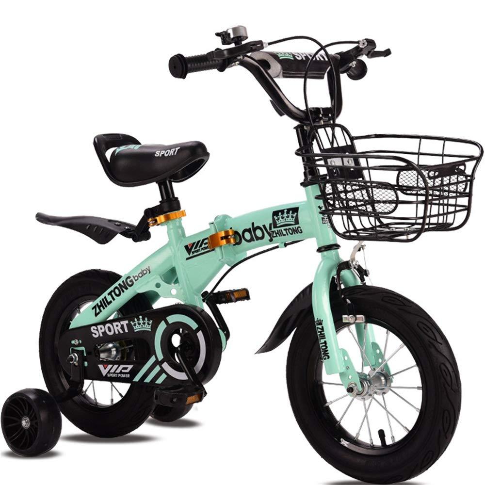 verde DRAKE18 Bicicleta para niños, Bicicleta para niños, niña, 12 14 16 18 Pulgadas, Adecuada para niños de 29 años. Conducción al Aire Libre. Materiales ecológicos no tóxicos. 12inch