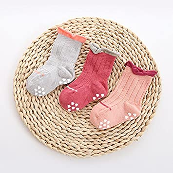 3391d69ca2f4 XIU RONG 1-3-5-7 Years Old Spring And Autumn Season Baby Socks ...
