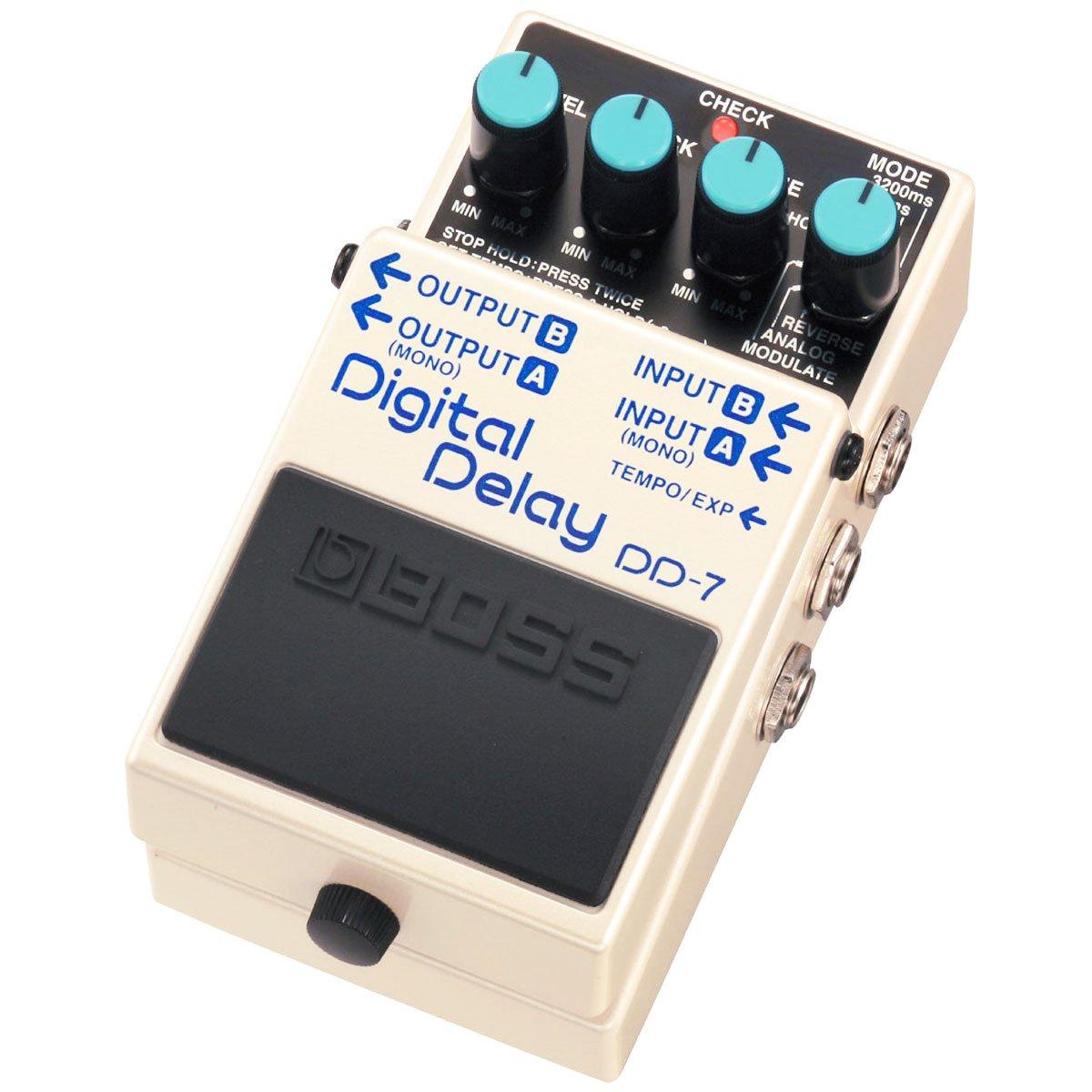 Boss DD de 7/Digital Delay Keepdrum de guitarra cable 3/m