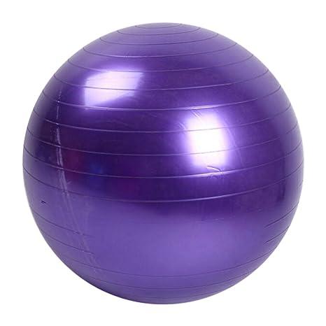 goneryisour Fitness - Balón de Yoga (PVC, 45 cm), Morado, Talla ...