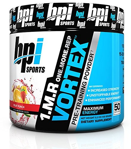 BPI Sports 1.M.R Vortex Pre-Workout Powder, Cherry Lime, 5.3 Ounce
