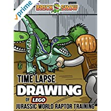 Clip: Time Lapse Drawing of Lego Jurassic World Raptor Training