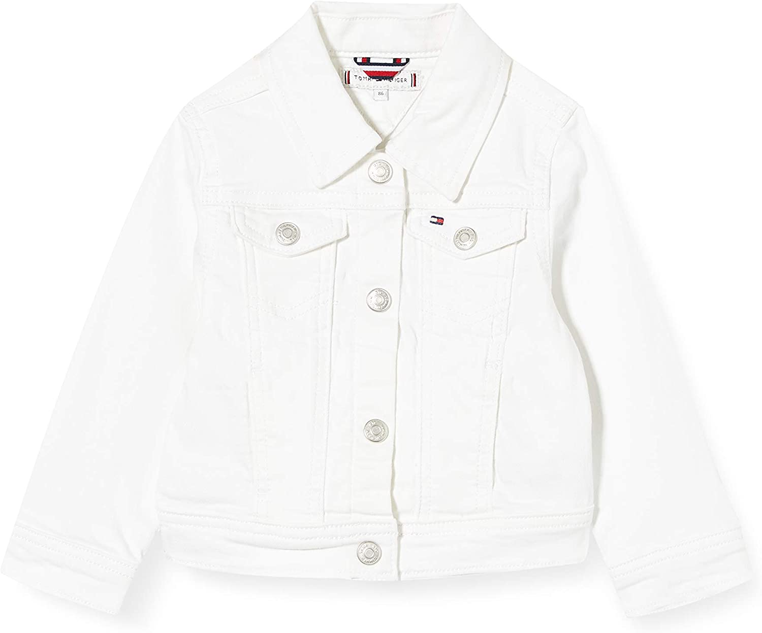 tommy hilfiger girls white jacket