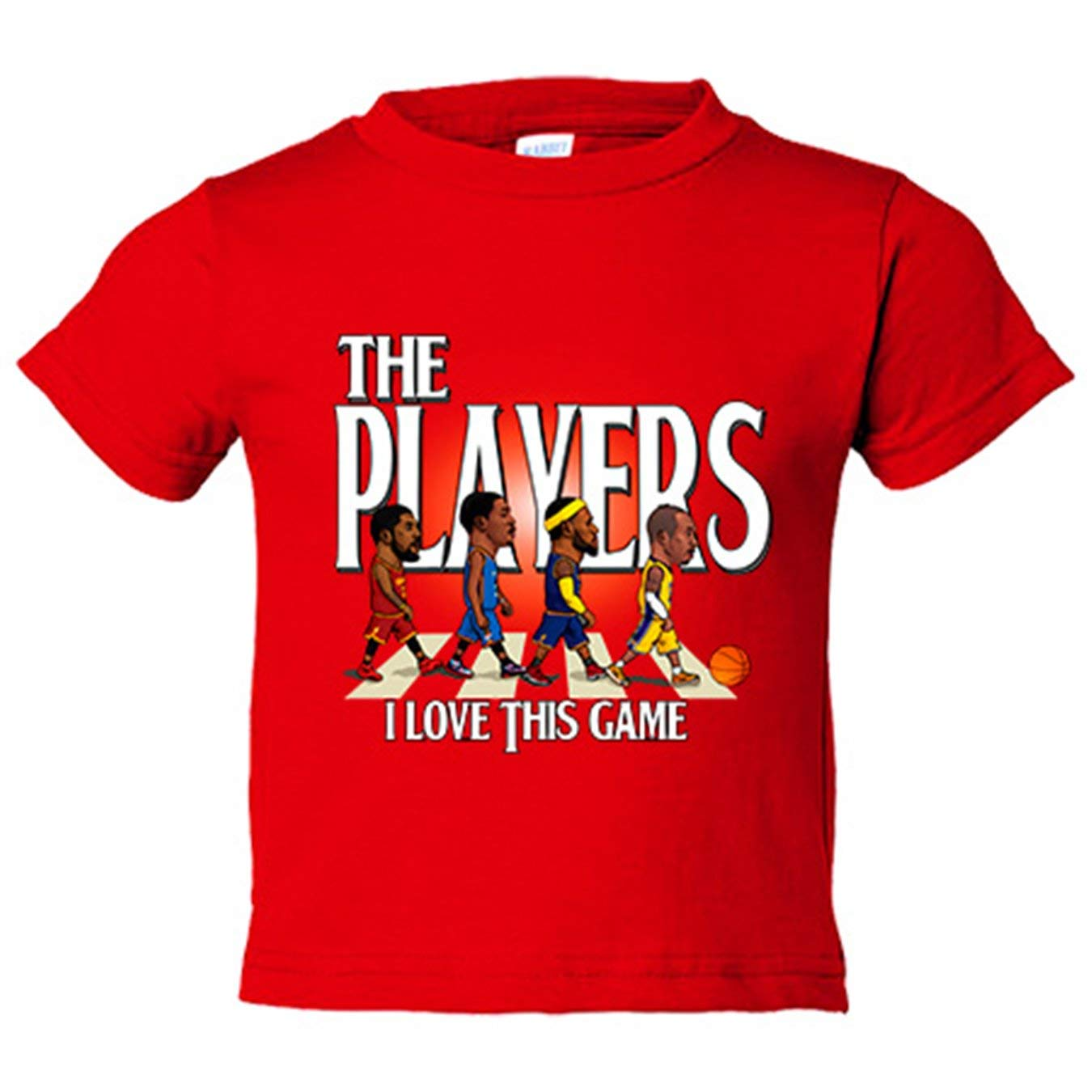 Camiseta niño The Players NBA I Love This Game Basket - Azul Royal, 3-4 años: Amazon.es: Bebé