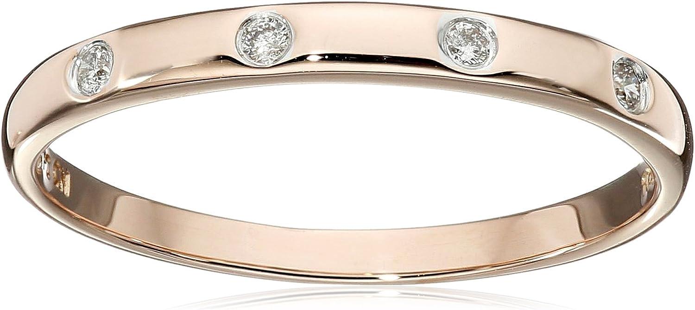 10k Gold Diamond Accent Ring Statement Amazon Collection B01LYHS0LZ