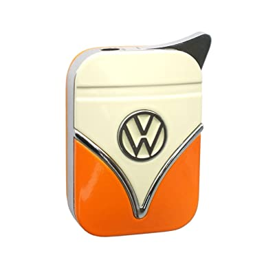 Genuine Volkswagen lighter in the front shield design - in different colors - Gift Set (VW-Bulli-yellow-orange) by Volkswagen VW Polyflame