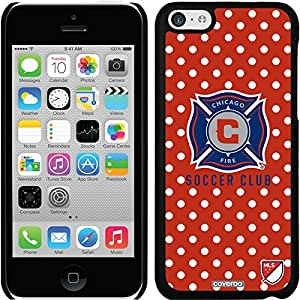 fashion case iphone 6 4.7 Black Thinshield Snap-On Case with Chicago Fire Polka Dots Design