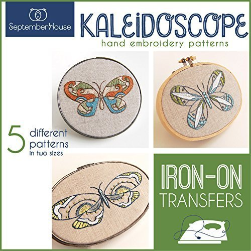 Kaleidoscope Hand Embroidery Patterns Iron On Transfers