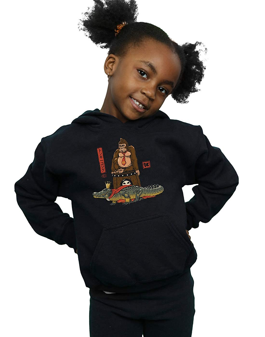 Vincent Trinidad Girls The Crocodile and The Gorilla Hoodie