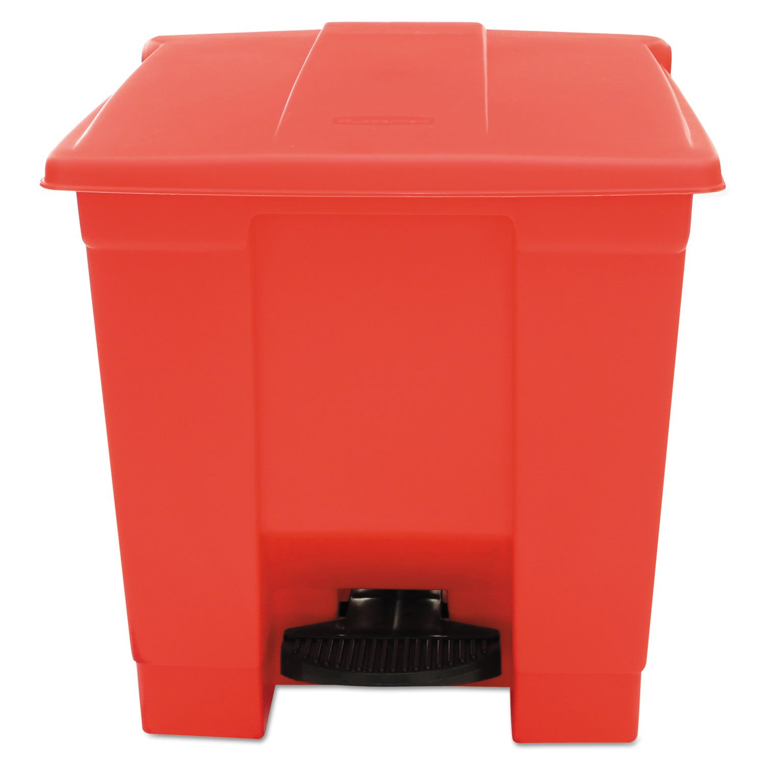 RCP6143RED - Indoor Utility Step-On Waste Container by Rubbermaid Commercial