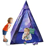 Indoor Kids Teepee Play Tent, Sunba Youth Outdoor  Galaxy Princess Tent Play House for Boys& Girls