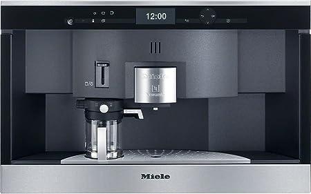 Miele CVA 6431 empotrable de cafetera automática (con sistema Nespresso, de 35 unidades técnicos, acero): Amazon.es: Hogar