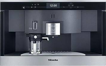 Einbau Kaffeevollautomat Test amazon de miele cva 6431 einbau kaffeevollautomat mit nespresso