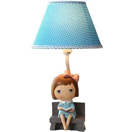 Lámpara de mesa Lámpara creativa para niña Habitación de ...