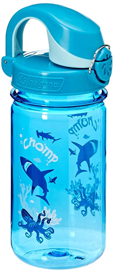 227aef4710 Amazon.com : Nalgene Kids OTF Chomp Bottle (Slate/Blue, 12-Ounce) : Sports Water  Bottles : Sports & Outdoors