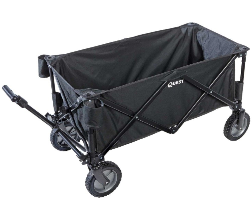 Amazon.com: Folding Utility Sports Wagon - Multicolors (Black ...