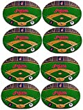 8 Cleveland Indians MLB Licensed Heavy Duty Vinyl Placemats