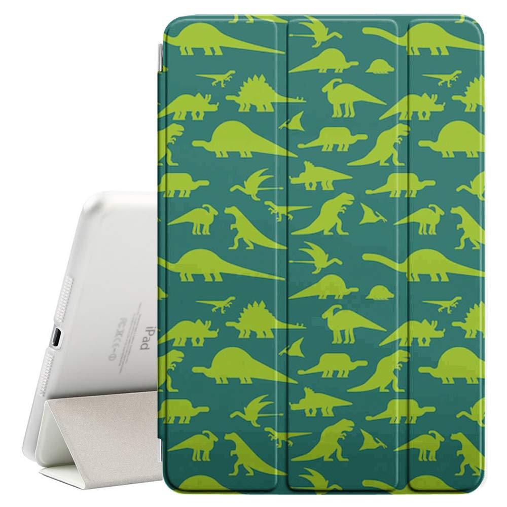 【60%OFF】 Apple iPad 9.7インチ(2017&2018)対応 - レザースマートカバー + ハードバックケース スリープ (恐竜の質感) -/スリープ解除機能付き Apple (恐竜の質感) B07PW79JF9, スニーカーシュープラネット:ff24e110 --- senas.4x4.lt