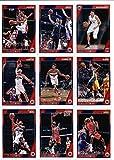 2016-17 Panini NBA Hoops Washington Wizards Team Set of 10 Cards: Ian Mahinmi(#99), John Wall(#154), Markieff Morris(#155), Bradley Beal(#156), Marcin Gortat(#157), Kelly Oubre Jr.(#158), Trey Burke(#194), Otto Porter(#255), Jason Smith(#260), Tomas Satoransky(#281)