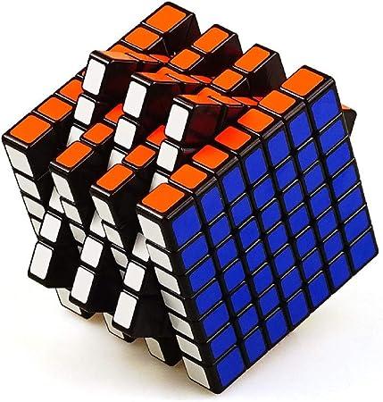 D Eternal MoYu Mofang Jiaoshi 7x7 High Speed Rubiks Magic Rubix Cube,Multicolor
