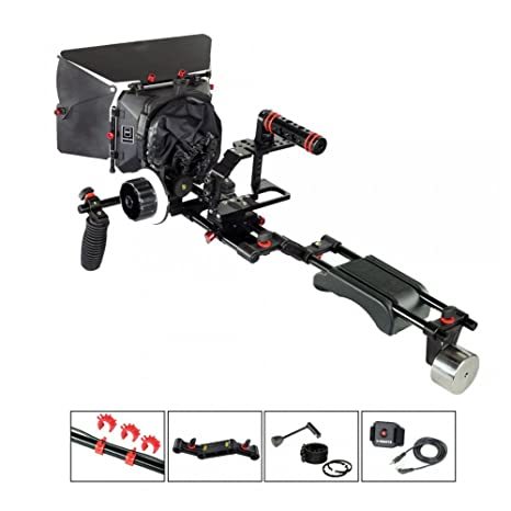 Filmcity Kit de soporte de hombro para Blackmagic Pocket Cinema ...