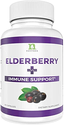 Sambucus Elderberry Capsules Supplement