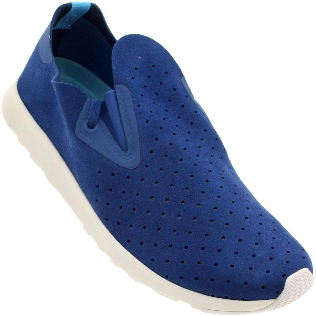Native Unisex Apollo Moc Fashion Sneaker. B00L5KLQYI 11 B(M) US Women / 9 D(M) US Men|Victoria Blue/Shell White Rubber