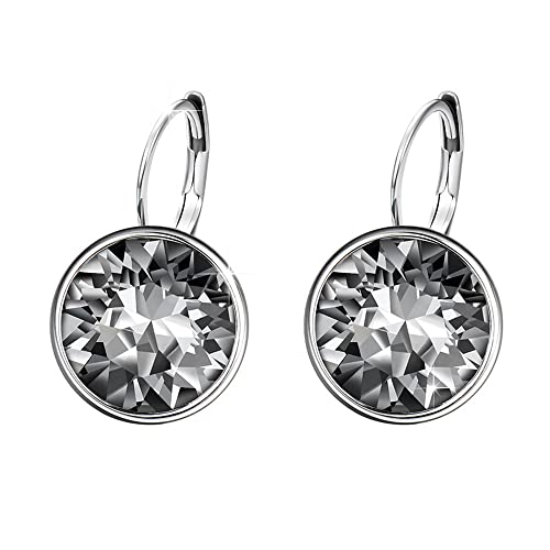 effe25058 Xuping Mother's Day Sparkle Hoop Earrings Crystals from Swarovski Women  Girl Party Jewelry Elegant Gifts (