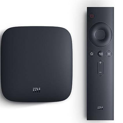 da48d3ed7c Mi Box 4K Android TV Set-top Box HDR Video Support: Amazon.co.uk ...