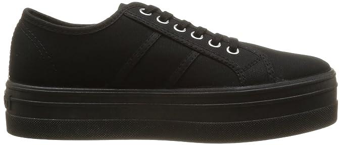 victoria Basket Lona Plataforma, Unisex-Erwachsene Sneaker, Schwarz (Negro), 40 EU