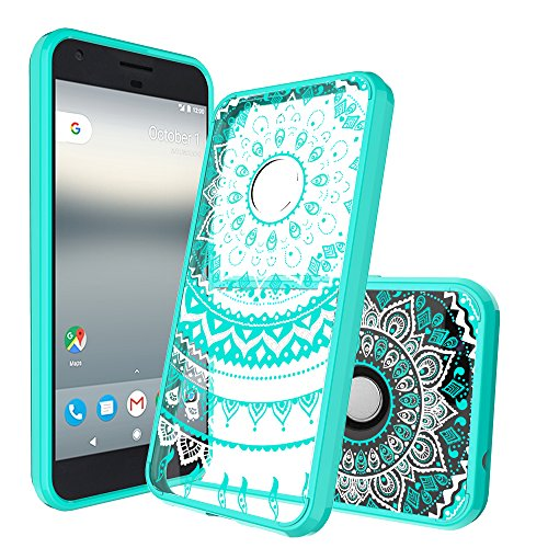 AnoKe Google Pixel XL Case,  Colors Totem Mandala Flower Cut