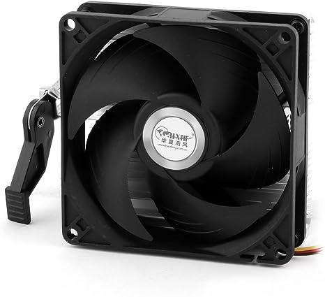DC 12V 3 pines CPU Cooler Ventilador Enfriador Disipador térmico ...