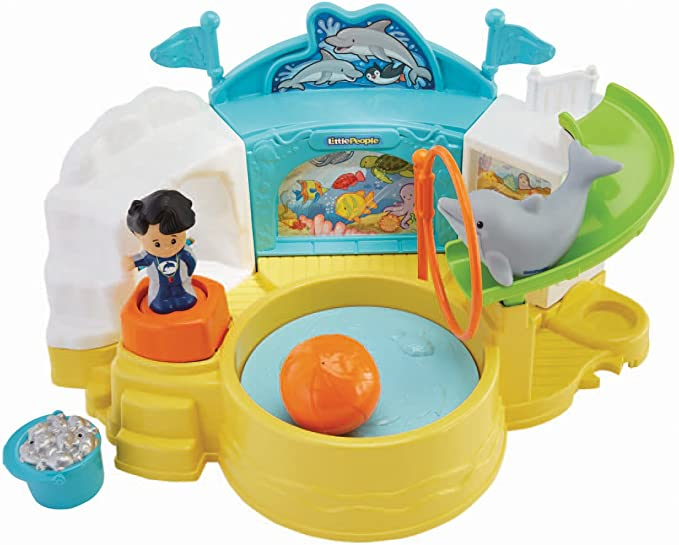 Fisher-Price Little People Aquarium Visit Fisher Price Import BGC32