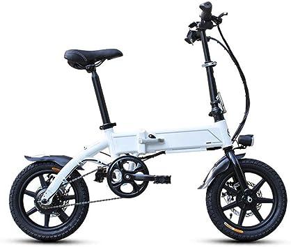 KNFBOK Bicicleta eléctrica de montaña Bicicleta Eléctrica Plegable ...