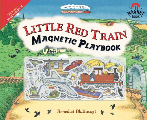 Read Online Little Red Train Magnetic Playbook PDF