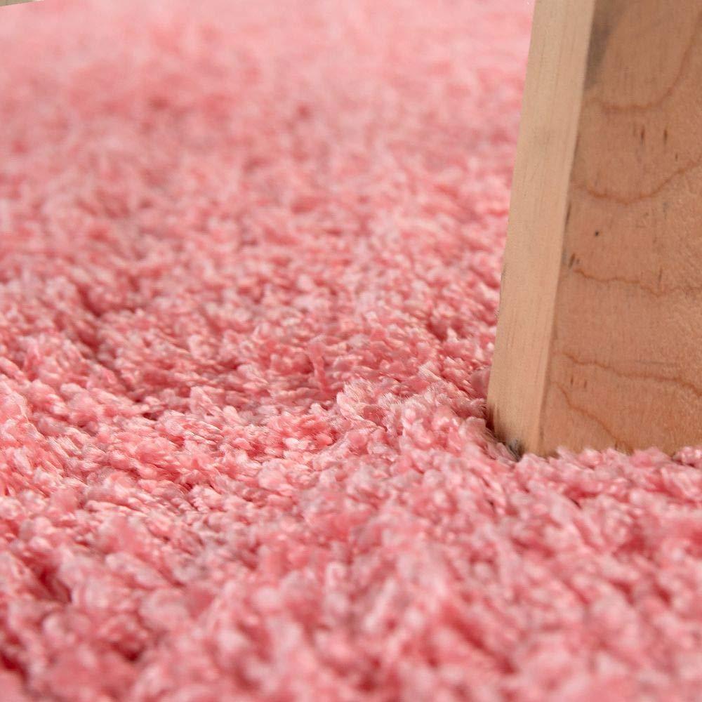 Paco Home Home Home Hochflor Teppich Waschbar Shaggy Rutschfest Uni In versch. Farben u. Grössen, Farbe Ivory (Creme), Grösse 150x220 cm 9bc086