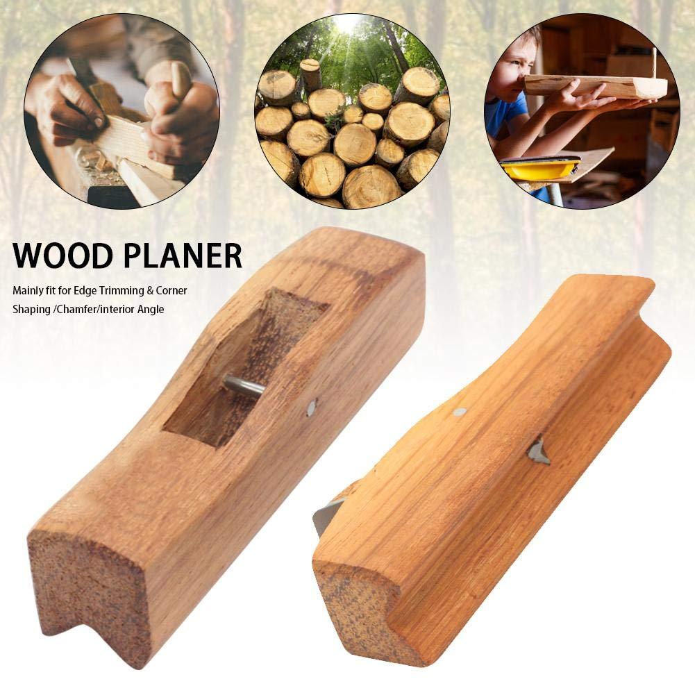 Holzhobel Blockhobel Tischler Handhobel Hobel Holz Projekt Kits Flache Fl/äche Zum Kantenschneiden Ecken Formen Fase Innenwinkel