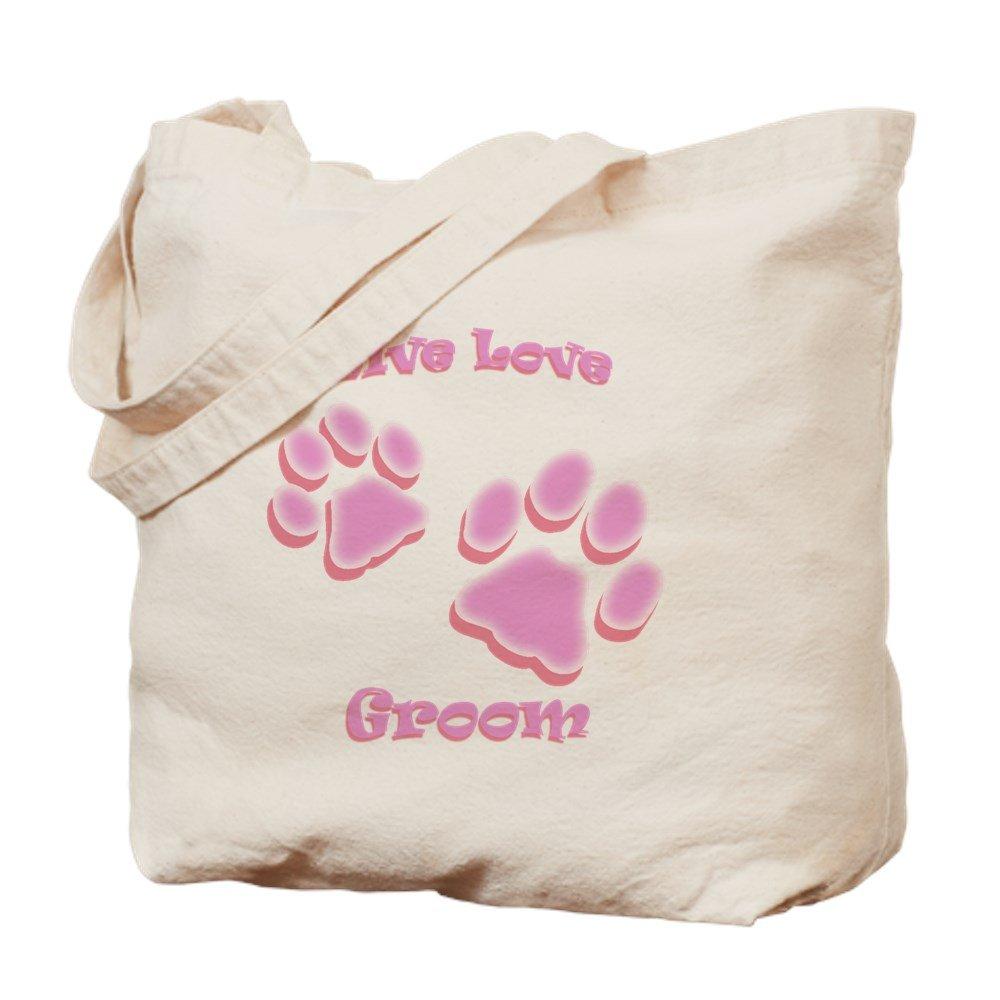 CafePress – Live Love Groom – ナチュラルキャンバストートバッグ、布ショッピングバッグ B00WJEO0FQ