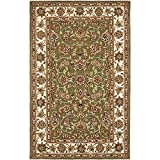 Cheap Safavieh Traditions Collection TD602B Handmade Sage and Ivory Wool Area Rug (9′ x 12′)