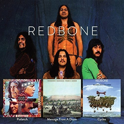 Redbone - Potlatch  Message From A Drum  Cycles - (FLOATD6279) - 2CD - FLAC - 2017 - WRE Download