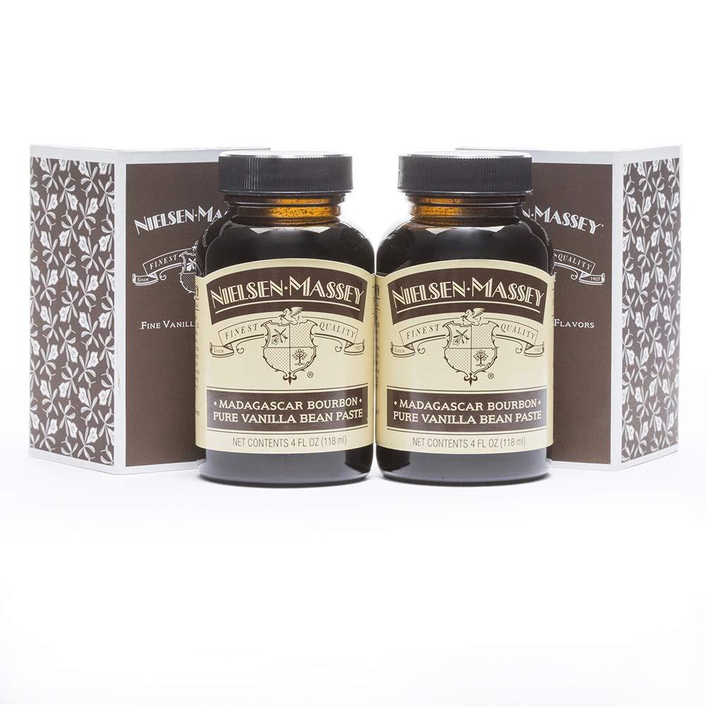 B00206VQJQ Nielsen-Massey Madagascar Bourbon Pure Vanilla Bean Paste, with Gift Boxes, 4 ounces, 2 pack 71whl-FwkjL