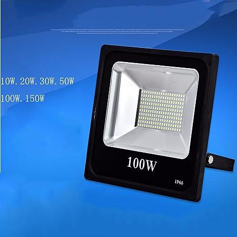 CHENG Proyectores LED IP66 Luces De Inundación Exteriores Impermeables Bombilla Halógena Luces Exteriores De Seguridad Equivalentes