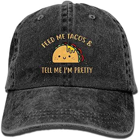 e6282801f9cf75 HU MOVR Cowboy Hat Camping Hair Don't Care Adult Sport Hat Adjustable