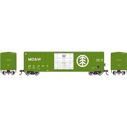 Buy N 50' FMC Superior Plug Door Box MD&W #8095 Online at